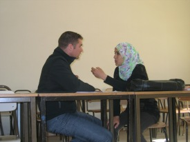 Cross-Cultural Conversation between OSU student and University of the South student in Gabes, Tunisia