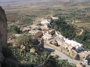 Takrouna Berber village from above